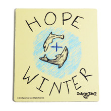 Dolphin Tale 2 Winter & Hope Rally Computer Mouse Pad