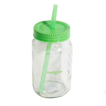 Dolphin Tale 28 oz. Glass Mason Jar