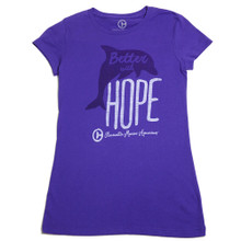 Better With Hope Juniors' Tee