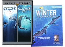 Dolphin Tale Trio DVD Movie Family Pack