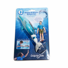 Winter the Dolphin & Sawyer Moveable Action Figures