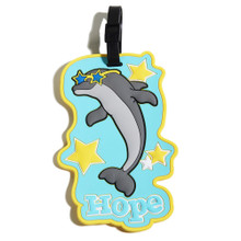 Hope the Dolphin Luggage Tag