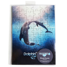 Dolphin Tale 2 Movie Poster 60-Piece Puzzle