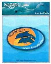 Dolphin Tale 2 On Location Iron-On Patch - Orange