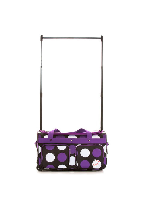 Medium Purple Polka Dot Bag 2.0