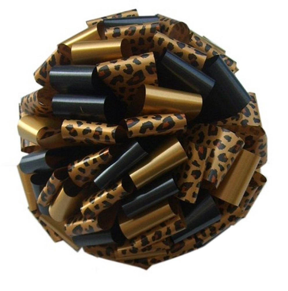 Cheetah Print Car Bows