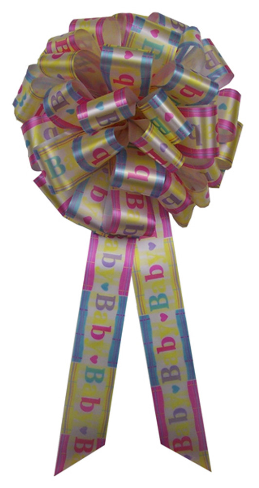 """12"""" Big Baby Bows - It's a Baby!"""