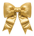 Yellow Satin Bow