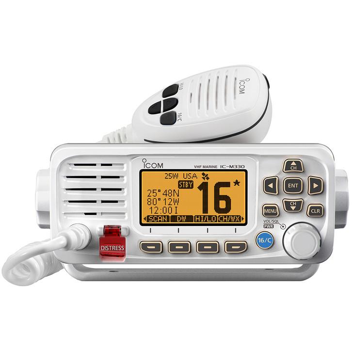 Icom M330 VHF Radio Compact w\/GPS - White [M330 81]