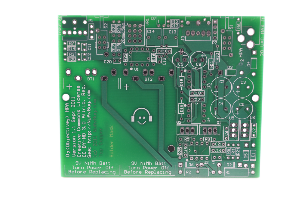 Objective2 PCB Rev 1.1a