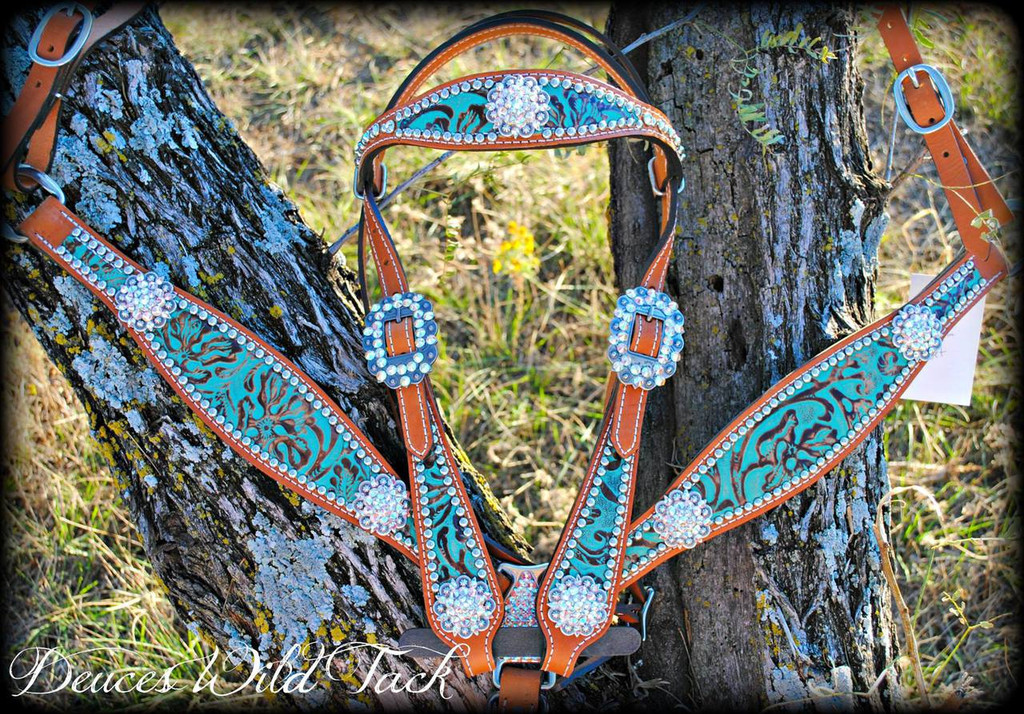 Round Concho Beauty Set - Pick Your Hide