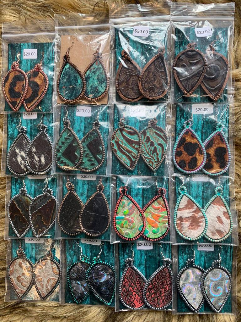 Dot & Hide Earrings Group 2