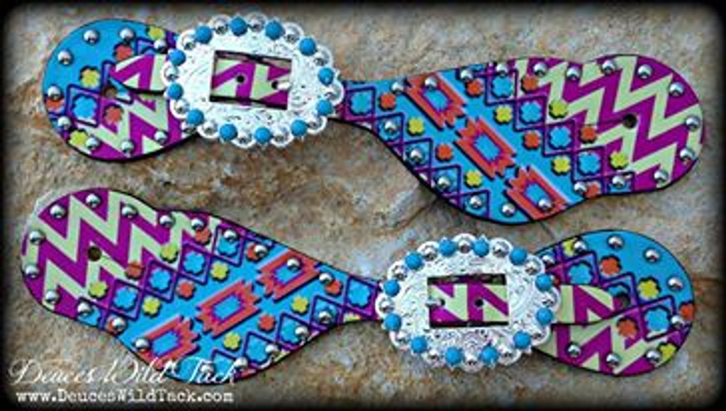 Chevron Aztec Spurs
