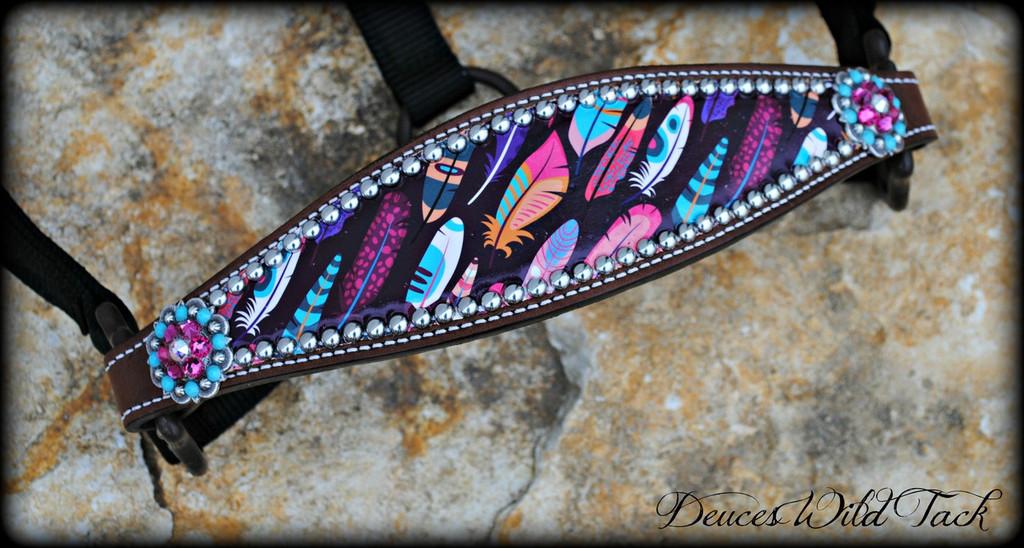 Native Feather Bronc Halter