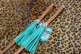 In Stock FW02 Over Under w/ Turquoise Fringe