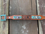 Tooled Dog Collar 8-10""
