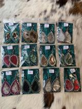 Dot &  Hide With Bling Earrings Group 7