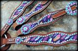Scalloped Native Feather Set