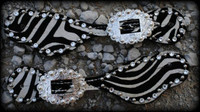 Zebra Hide Straps