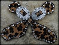 Cheetah Hide Straps