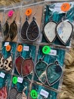 Dot & Hide Earrings Group 4