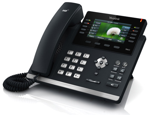 Yealink Ultra-elegant Gigabit IP Phone SIP-T46S