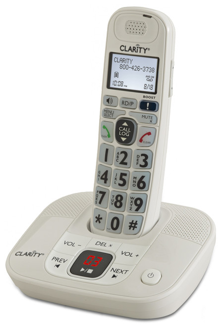 Clarity 53714.000 40dB Amplified Cordless ITAD D714