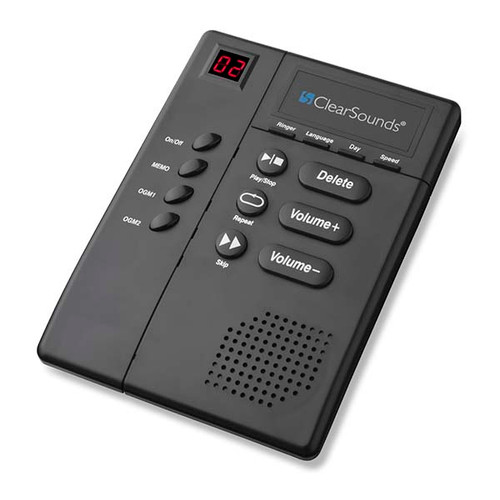 CLEAR SOUNDS Digital Amplified Answering Machine with ANS3000