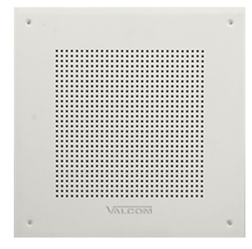 VALCOM IP Square 8 Inch Speaker WH VIP-418A-IC
