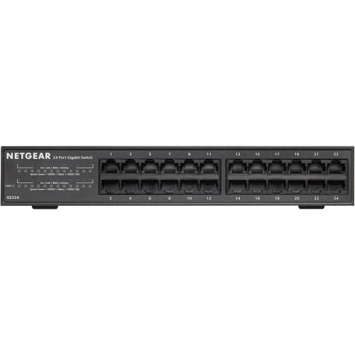 Netgear 24 PORT GIGABIT ETHERNET SWITCH GS324-100NAS