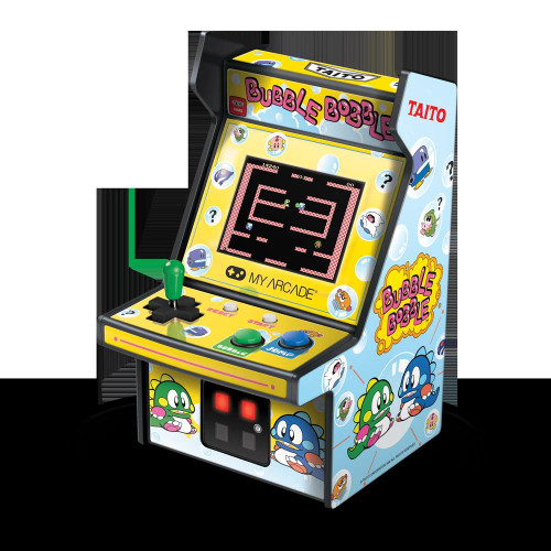 DreamGear 6.75[dquote] RETRO BUBBLE BOBBLE MICRO PLAYER DGUNL-3241