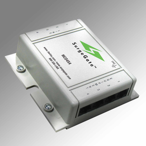 ITW Linx Protects four lines RJ-11 45 connectors MCO4X4-60