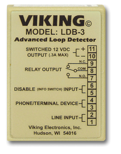 Loop and Ring Detector Board