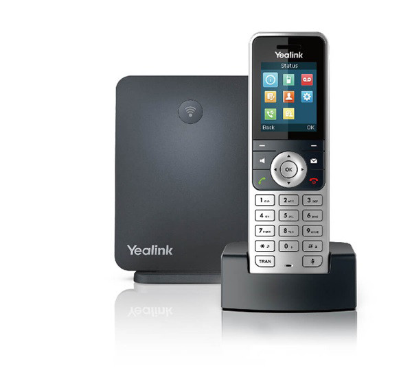 Yealink IP DECT Phone bundle W53H with W60 base W53P