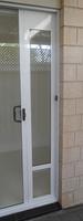 pet door for sliding doors by Modern Pet Doors