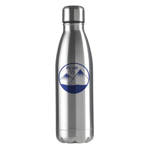 Stainless Steel - Metallic - 500ml - Silver