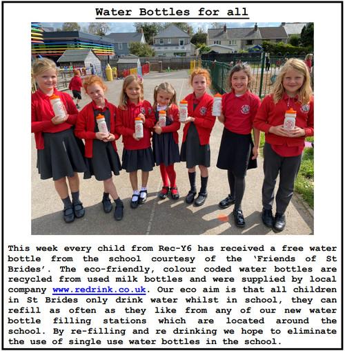 School Bottle - Recycled