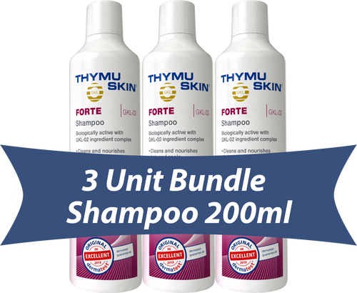 THYMUSKIN® FORTE - 3 Unit Bundle - Shampoo 200ml