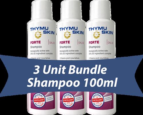 THYMUSKIN® FORTE - 3 Unit Bundle - Shampoo 100ml