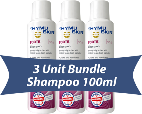 THYMUSKIN® FORTE - 3 Unit Bundle - Shampoo 100ml