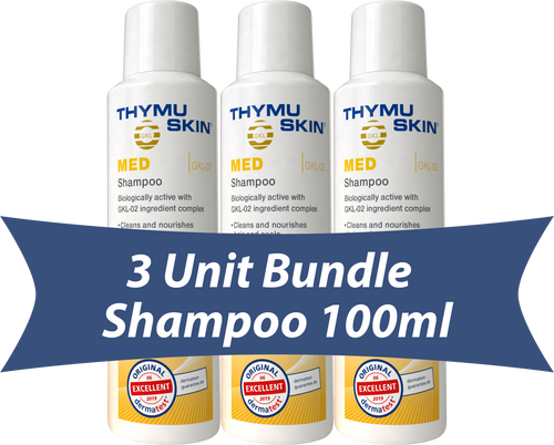 THYMUSKIN® MED - 3 Unit Bundle - Shampoo 100ml