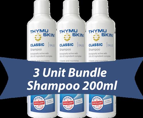 THYMUSKIN® Classic - 3 Unit Bundle - Shampoo 200ml