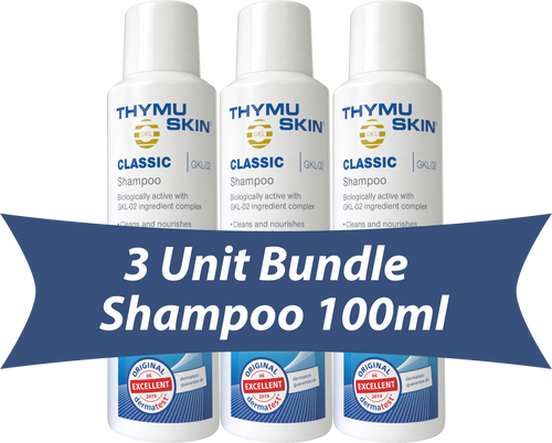 THYMUSKIN® Classic - 3 Unit Bundle - Shampoo 100ml
