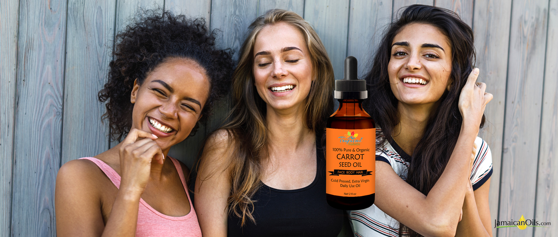CARROT SEED OIL for all hair types