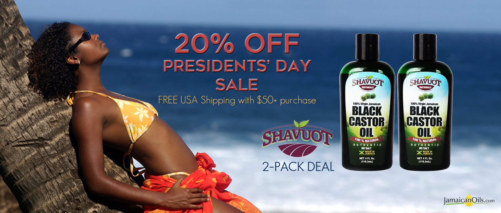 20% OFF Presidents' Day Sale