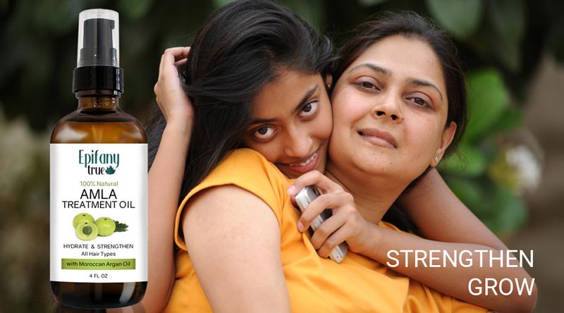 Amla Hair Treatment Oil For Stronger, Longer Hair Growth