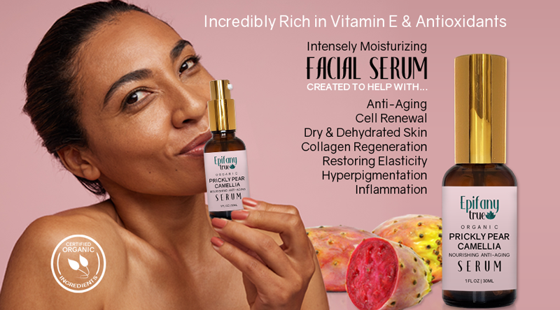 Epifany True Organic Prickly Pear & Camellia Face Serum