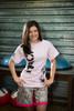 Pink MACP Fight Shirt -100% Cotton