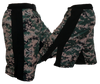 Blank MMA MARPAT w/ Black Stripe Digi Camo Fight Shorts