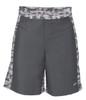 MMA Digital Insert Polyester Shorts - Gunmetal & Digital Army - Soffe